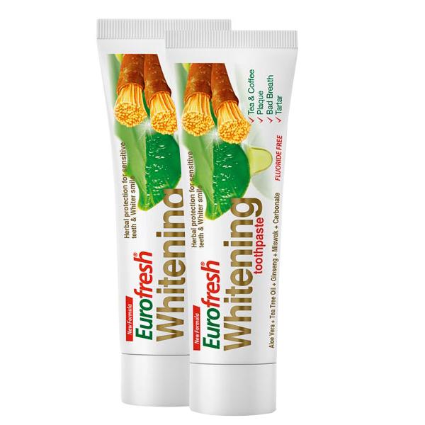 Farmasi EuroFresh Whitening Aloe Veralı Misvaklı Diş Macunu